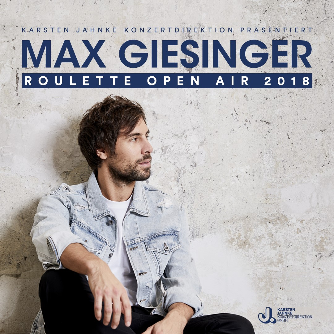 Max Giesinger Roulette Open Air Tour Live In Pictures